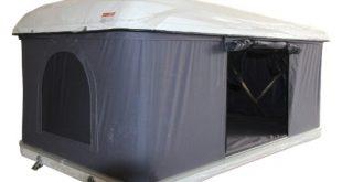 Hartschalen Autodachzelt GFK grau Oeffnung automatisch von Prime Tech 310x165 - Hartschalen-Autodachzelt, GFK grau, Öffnung automatisch von Prime Tech